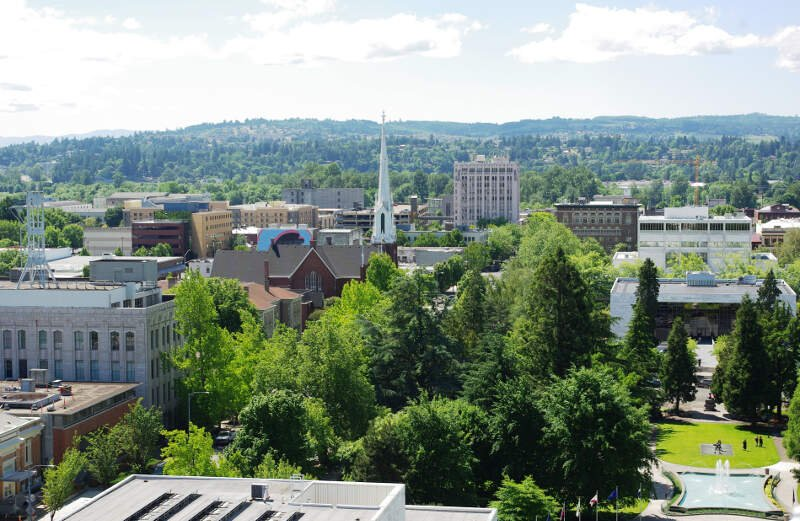 Salem Oregon Downtown