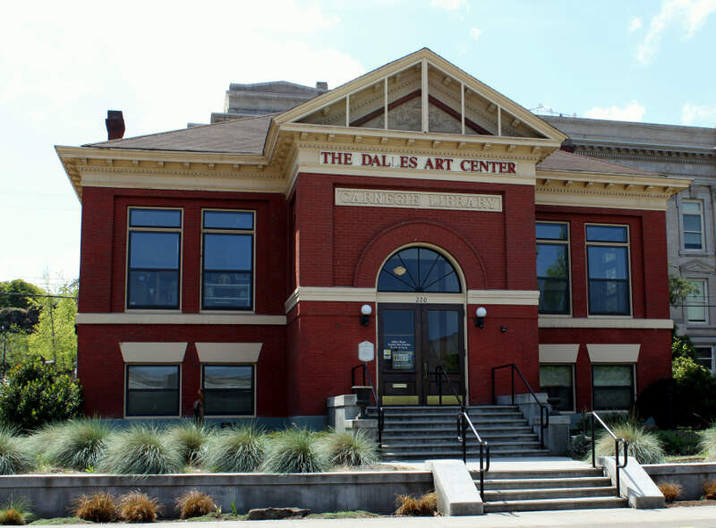Carnegie Library In The Dalles Oregon