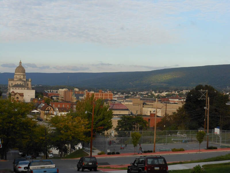 Altoona Downtown From Th Ward