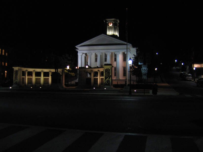 Courthouse In Bellefonte