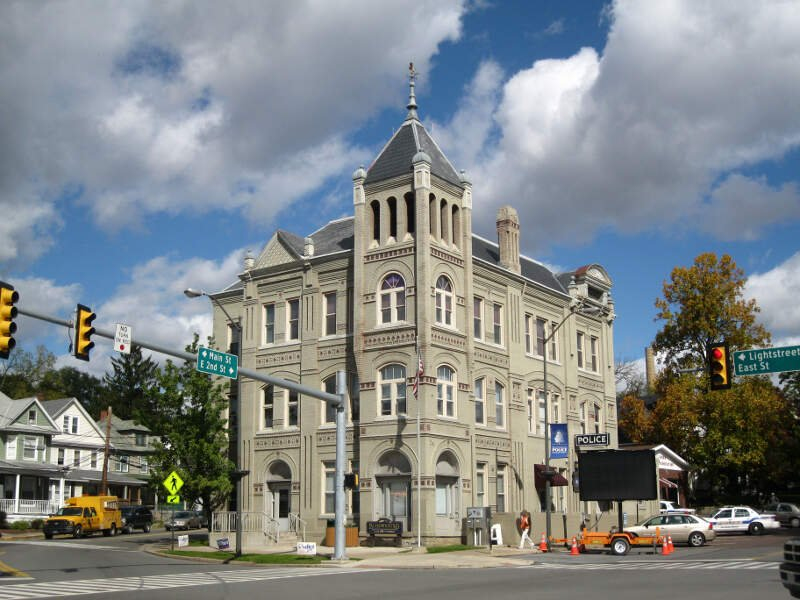 Bloomsburgc Pennsylvania Town Hall