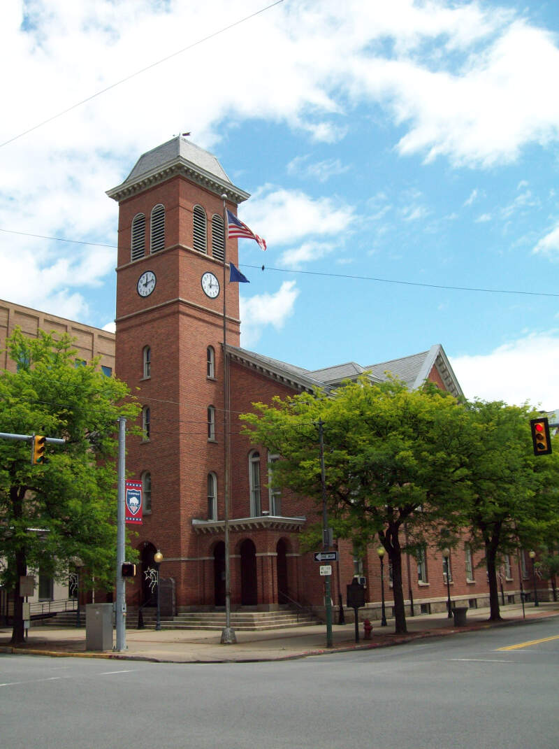 Clearfield County Courthouse Jun