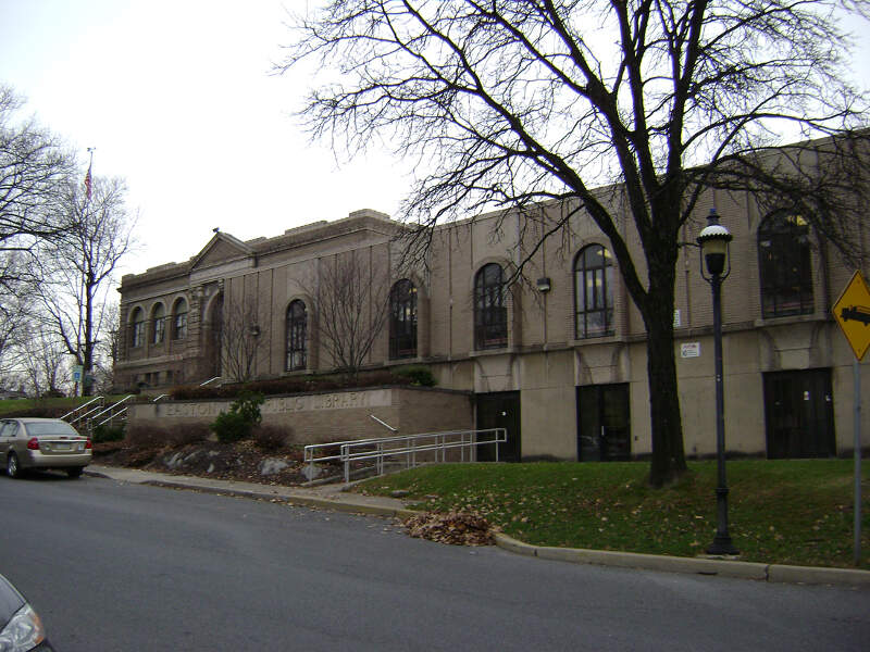 Easton Area Public Library In Easton Pa