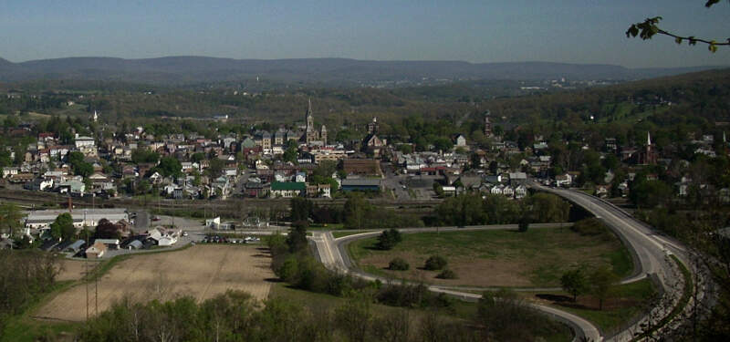 Hollidaysburg Pennsylvania Skyline