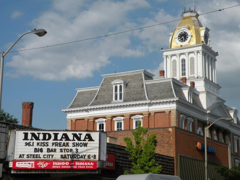 Indiana Theater Sign