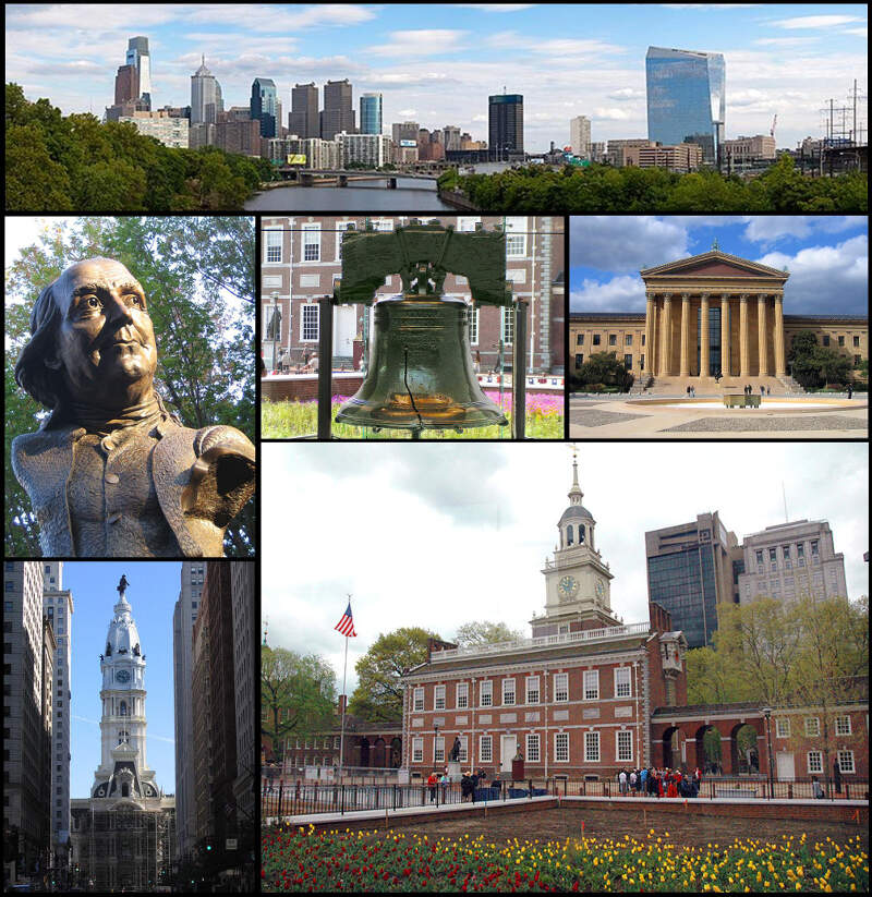 Philadelphia Montage By Jleon