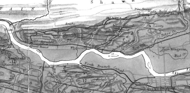 Anthracite Map Detail