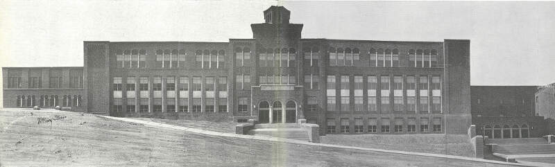 Pottsville High School After Completion Of Construction In