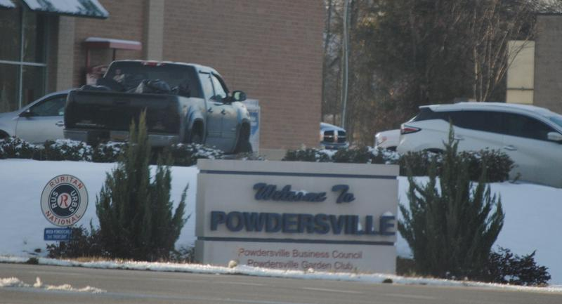 Powdersvillescsign