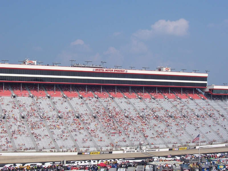 Bms Front Grandstand