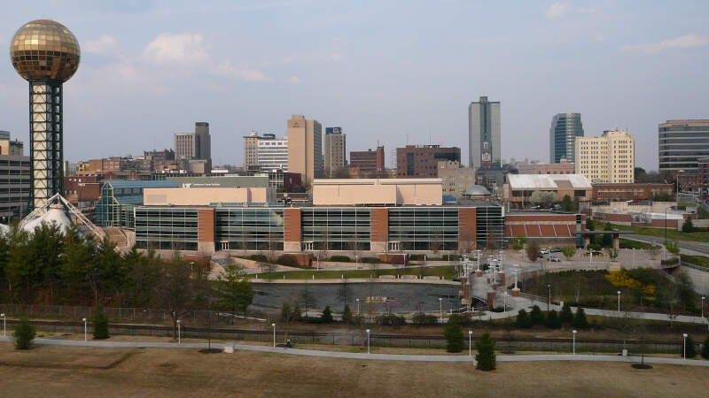 Knoxville Tn Skyline