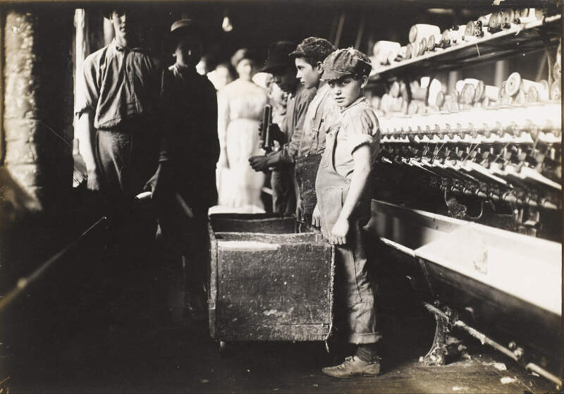 Lewis Wickes Hine   Young Doffers In The Elk Cotton Millsc Fayettevillec Tennessee   Google Art Project