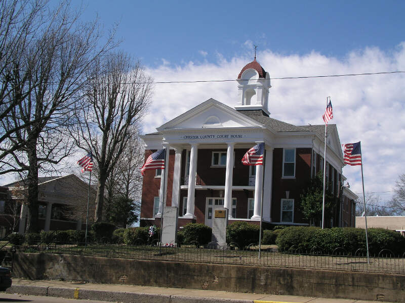 Chester County Tennessee Courthouse