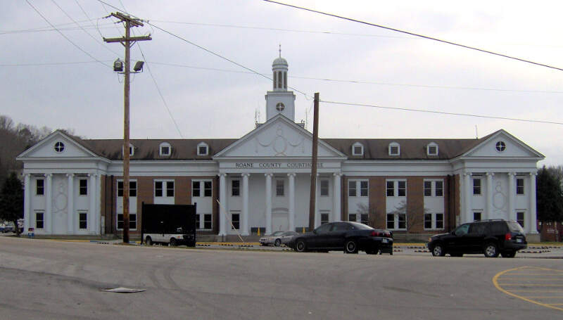 Roane County Tennessee Courthouse