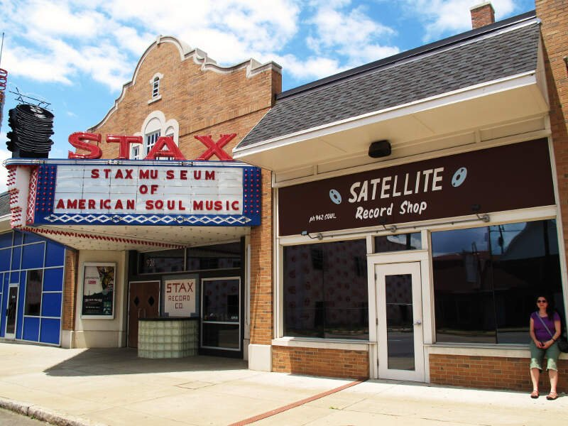 Stax Museum Satellite Record Shop