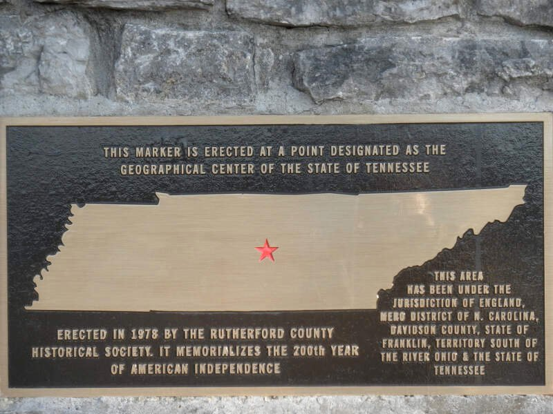 Geographic Center Of Tennessee Pc