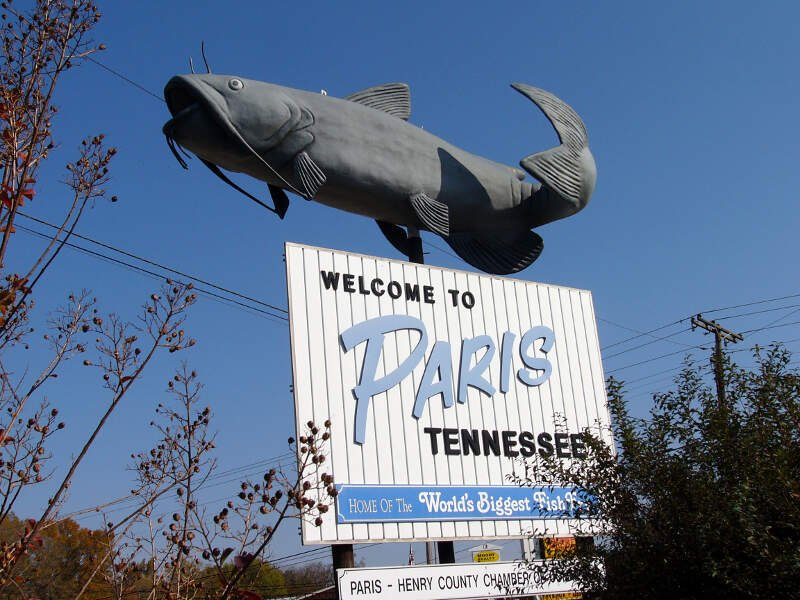 Catfish Welcome To Paris Tennessee