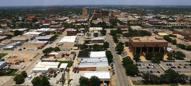 Abilene From The Enterprise Building