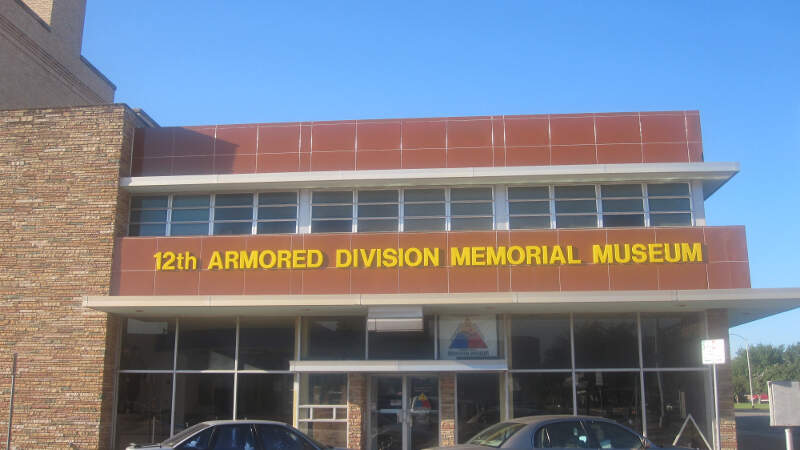 Th Armored Division Memorial Museumc Abilenec Tx Img
