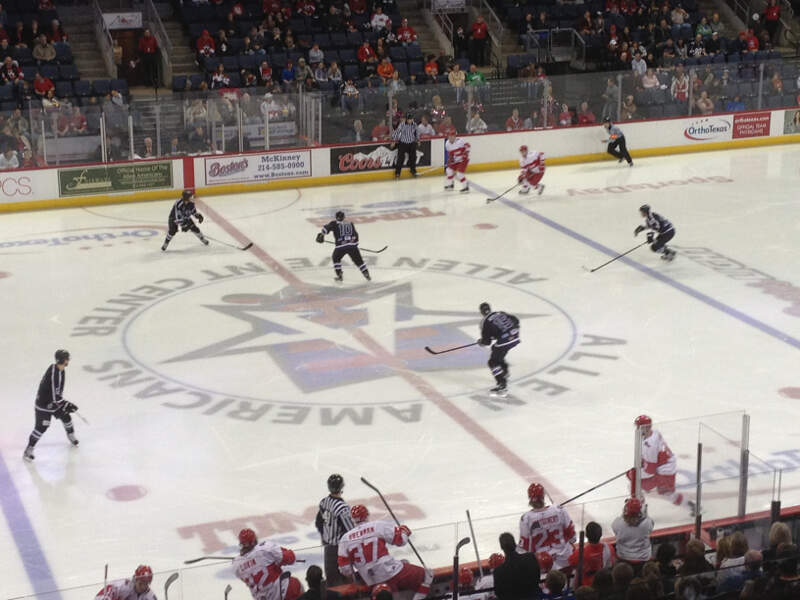 Allen Americans Vs Fort Worth Brahmas    January  C