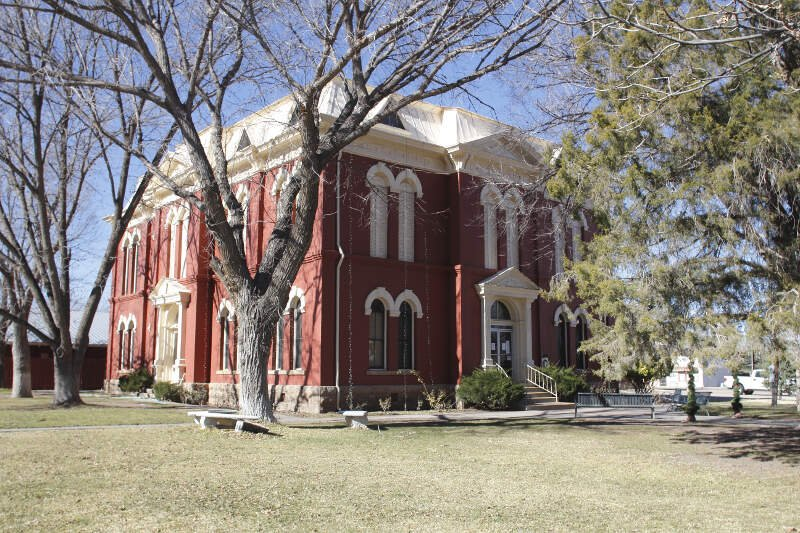 Brewster County Courthouse   Alpinec Tx