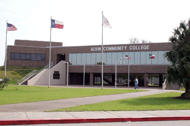 Alvin Community College A Buildingctexas
