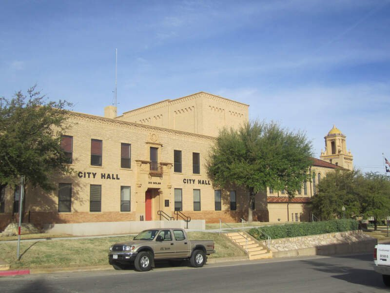 City Hall At Big Springc Tx Img