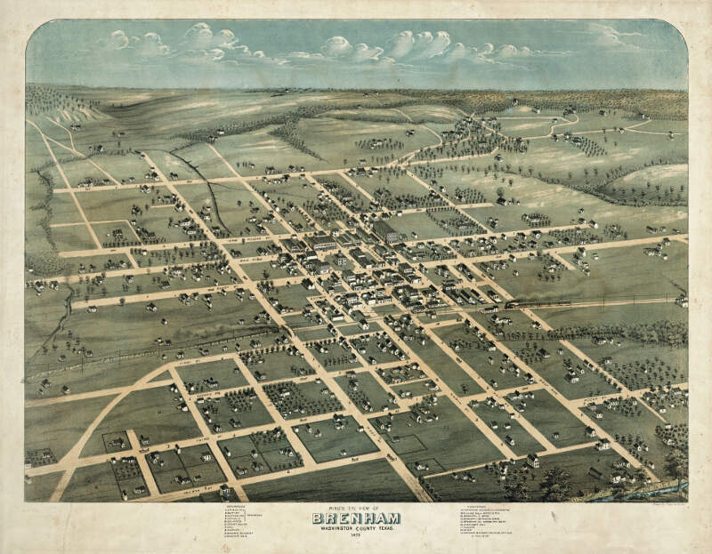 Old Map Brenham