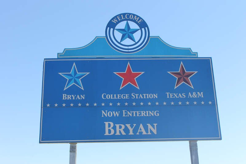 Bryanc Tx Welcome Sign Img