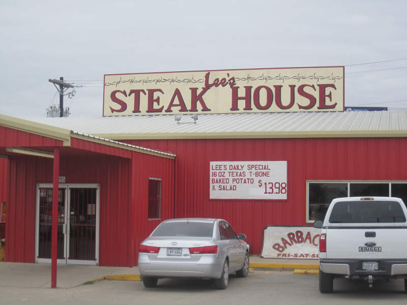 Lees Steak Housec Carrizo Springsc Tx Img