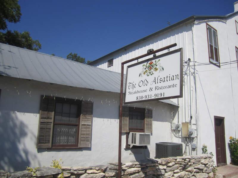 The Old Alsatian Steakhousec Castrovillec Tx Img