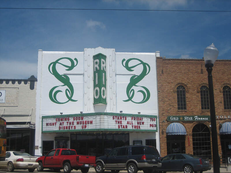 Rio Theater In Centerc Tx Img