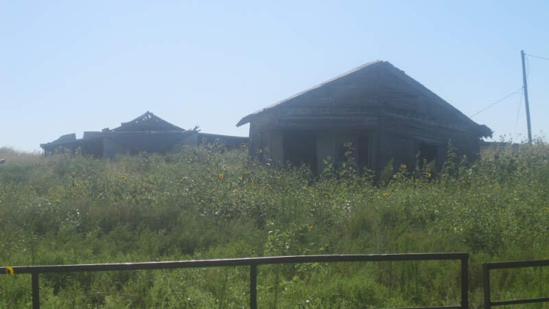 Abandoned Buildings South Of Childressc Tx Img