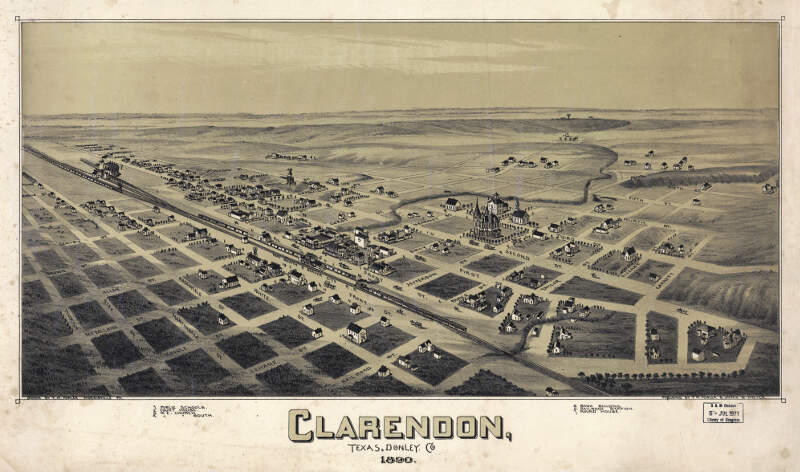 Old Map Clarendon