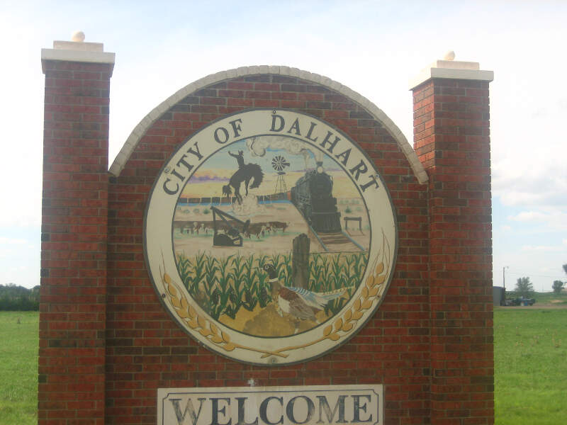 Dalhart Welcome Sign Img