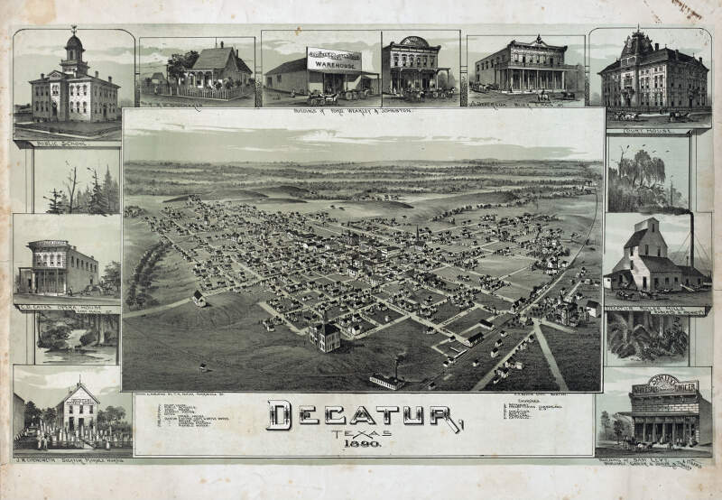 Old Map Decatur