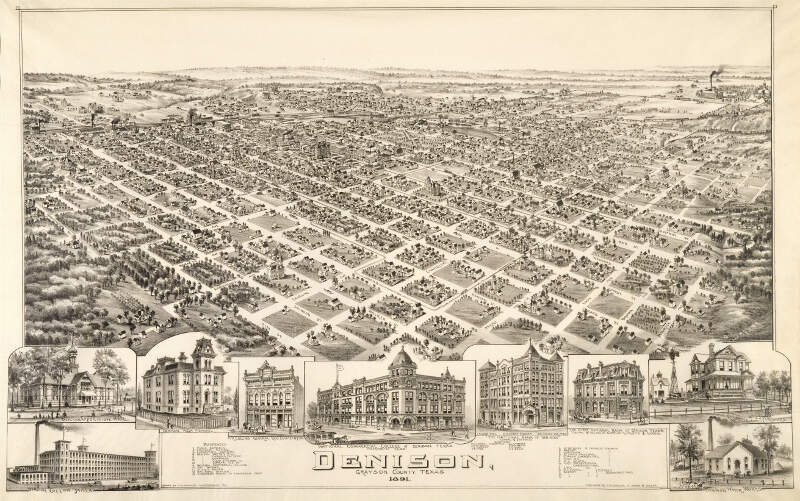 Old Map Denison