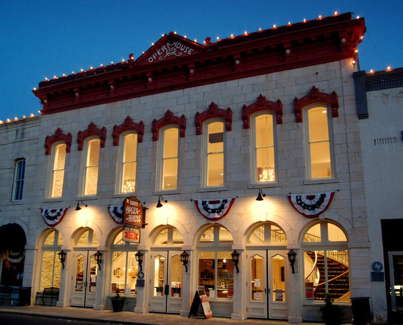 Granbury Opera House At Twilight