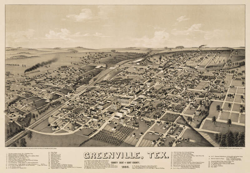 Old Map Greenville