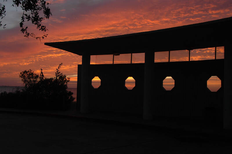 Sunrise At Sylvan Beach Pavilion