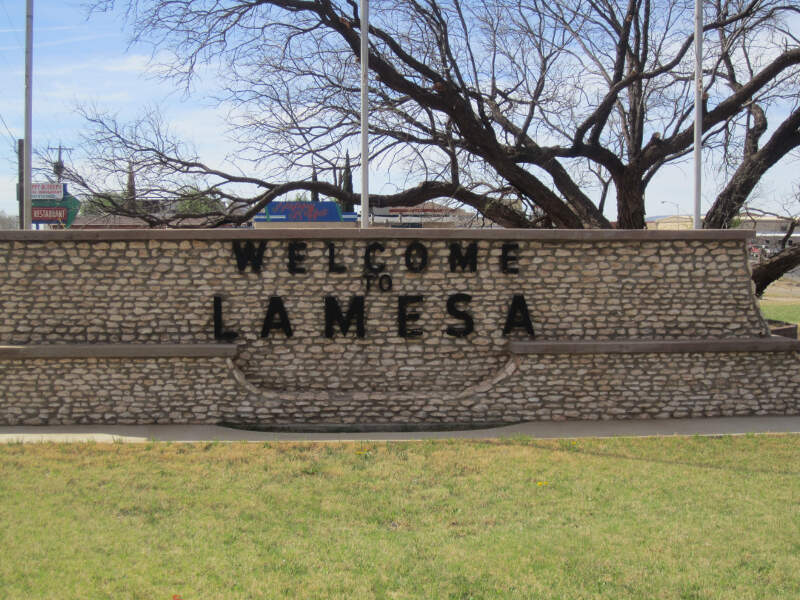 Lamesac Tx Welcome Sign Img