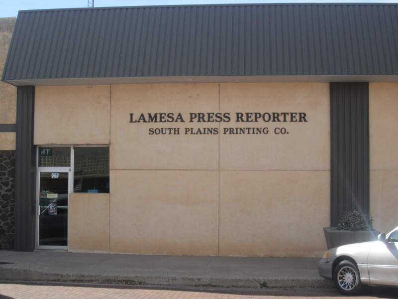 Lamesa Press Reporter Office Img
