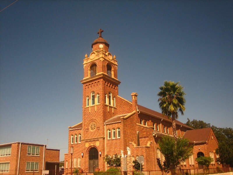 Our Lady Of Guadalupe Catholic Church In Laredoc Tx Img
