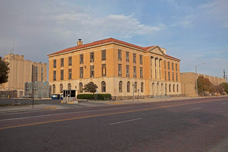 Lubbock Texas Old Federal Courthouse