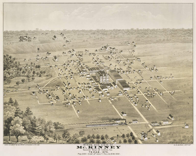 Old Map Mckinney