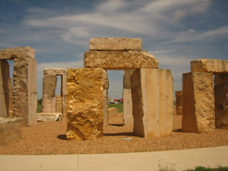 Stonehenge At University Of Texas At The Permian Basin Picture