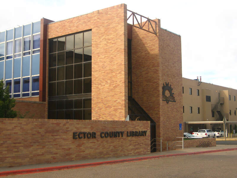 Ector County Library In Odessac Tx Picture