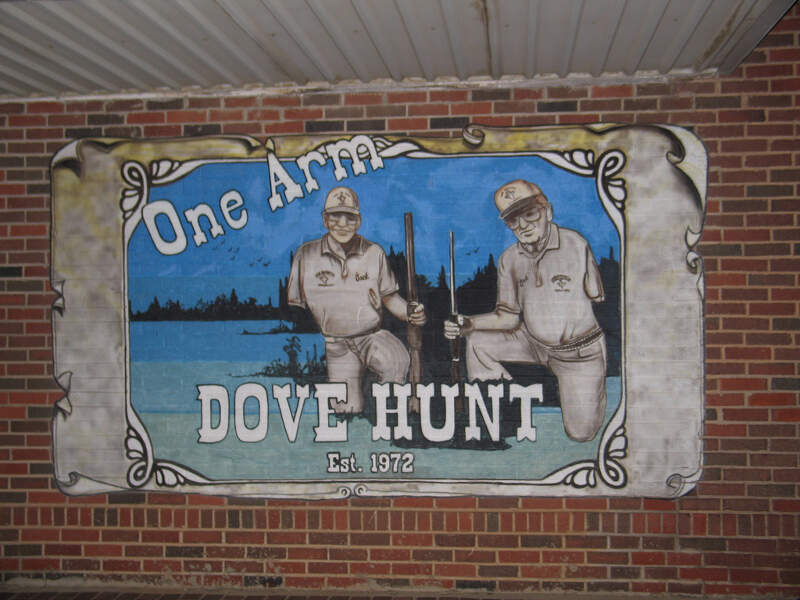 One Arm Dove Hunt Mural