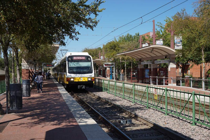 Downtown Plano Station October