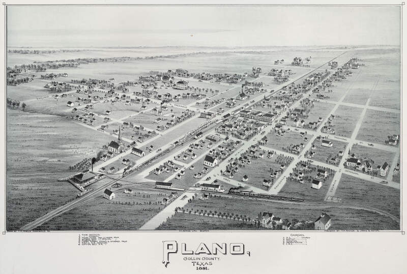 Old Map Plano